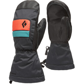 Black Diamond Spark Mittens Kids, caspian/rust